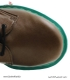 کفش چرم میکل Micle (سبز لجنی زیره سبز روشن)