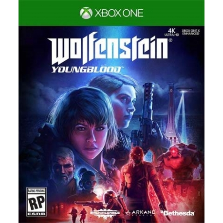 بازی Wolfenstain Young blood برای Xbox one