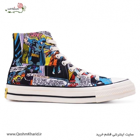 کفش کانورس آل استار All Star Converse 1970s DC Batman HighTOP