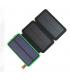 پاوربانک خورشیدی با ظرفیت 20000 میلیآمپری Eshine 20000mAh  همراه3 عدد پنل خورشیدی با شارژر وایرلس 5W مدل 820W