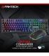 کیبورد گیمینگ به همراه ماوس حرفه ای مدل COMMANDER COMBO MVP862 برند Fantech