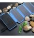 پاوربانک چراغدار 24000 میلیآمپری همراه با شارژر وایرلس و پنل خورشیدی مدل PB-S24