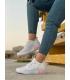 کفش اسپرت ورزشی زنانه آدیداس رنگ سفید Adidas Sport Shoes Woman