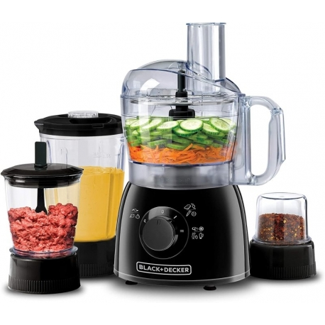 غذاساز بلک اند دکر Black+Decker-400W-29 Function-Food Processor