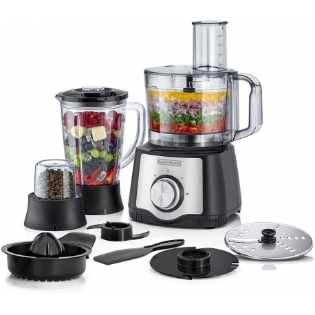 غذاساز بلک اند دکر Black+Decker-600W- 29 Function Food Processor- FX650-B5