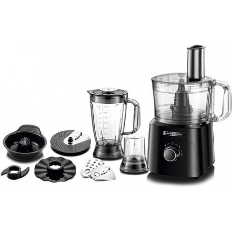 غذاساز 5 کاره بلک اند دکر Black+Decker-750W-5-in-1 34 Function Food Processor - FX775-B5