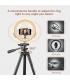 رینگ لایت 10 اینچی + سه پایه قابل تعویض