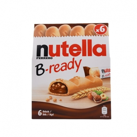 بیسکوییت شکلات nutella B-ready
