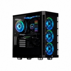 کامپیوتر گیمینگ DRAGON AMD Ryzen7 5800X COLORFUL IGAME RTX2060 GSKILL RGB D4 3600 16G Western Digital SN550 1TB+ 1TB HDD