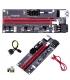 پک 6 عددی رایزر گرافیک تبدیل PCI EXPRESS X1 به X16 مدل 009s GOLD