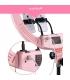رینگ لایت (نور ثابت) 18 اینچی اچ کیو مدل HQ18 pink ring light