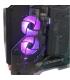 کامپیوتر دسکتاپ کوگر با پردازنده intel i9 10900K گرافیک Colorful RTX 3070 Vulcan 8G رم 32GB   هارد Samsung 980 Pro 500GB