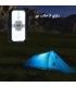 پاوربانک خورشیدی مدل E-Shine ES982S با ظرفیت 20000 میلی آمپر همراه با چراغ LED   شارژ کابلی همزمان 3 عدد گوشی + شارژر وایرلس