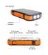پاوربانک خورشیدی یی شاین با ظرفیت 33600 میلی آمپری فست شارژ Eshine 33600mAh |شارژر وایرلس 10 وات | همراه با پنل خورشیدی کد F33W