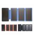 پاوربانک خورشیدی با ظرفیت 20000 میلیآمپری Eshine 20000mAh |همراه3 عدد پنل خورشیدی با شارژر وایرلس 5W مدل 820W