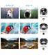 کیت لنز دوربین Apexel 6 In 1 مدل Apexel 6 In 1 Phone Camera Lens Kit Wide Angle Lens + Macro Lens + Fisheye Lens + ND Filter+