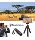 لنز دوربین APEXEL با لنز تله فوتو 18x Fisheye مدل APEXEL Phone Camera Lens with 18x Telephoto Lens Fisheye,Macro/Wide Angle Lens